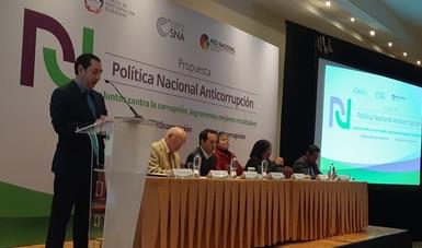 Presentación de la Política Nacional Anticorrupción