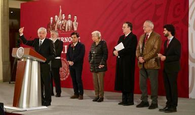 Conferencia de prensa encabezada por el Presidente Andrés Manuel López Obrador
