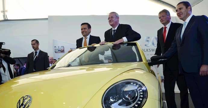 Celebración del 50 Aniversario de Volkswagen en México