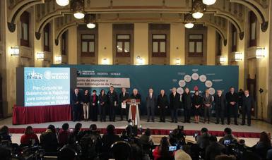 Presidente Andrés Manuel López Obrador presentó el Plan Conjunto del Gobierno de la República para combatir el robo de hidrocarburos
