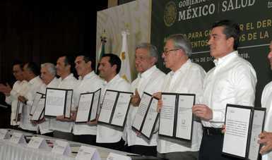 El Presidente de la República encabeza la firma del acuerdo para la transformación de los servicios de salud