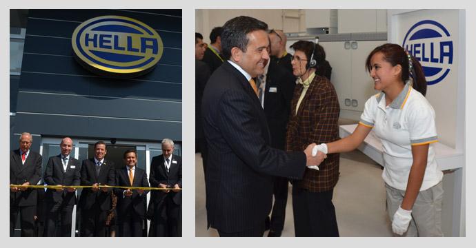 Inaugura el Secretario Ildefonso Guajardo la Planta de Iluminación de HELLA, en Irapuato