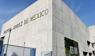 Fachada del Hospital Juárez de México.