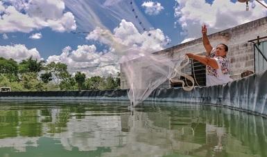 La actividad pesquera y acuícola, factor clave en la seguridad alimentaria, se fomentará en comunidades rurales del sureste del país.