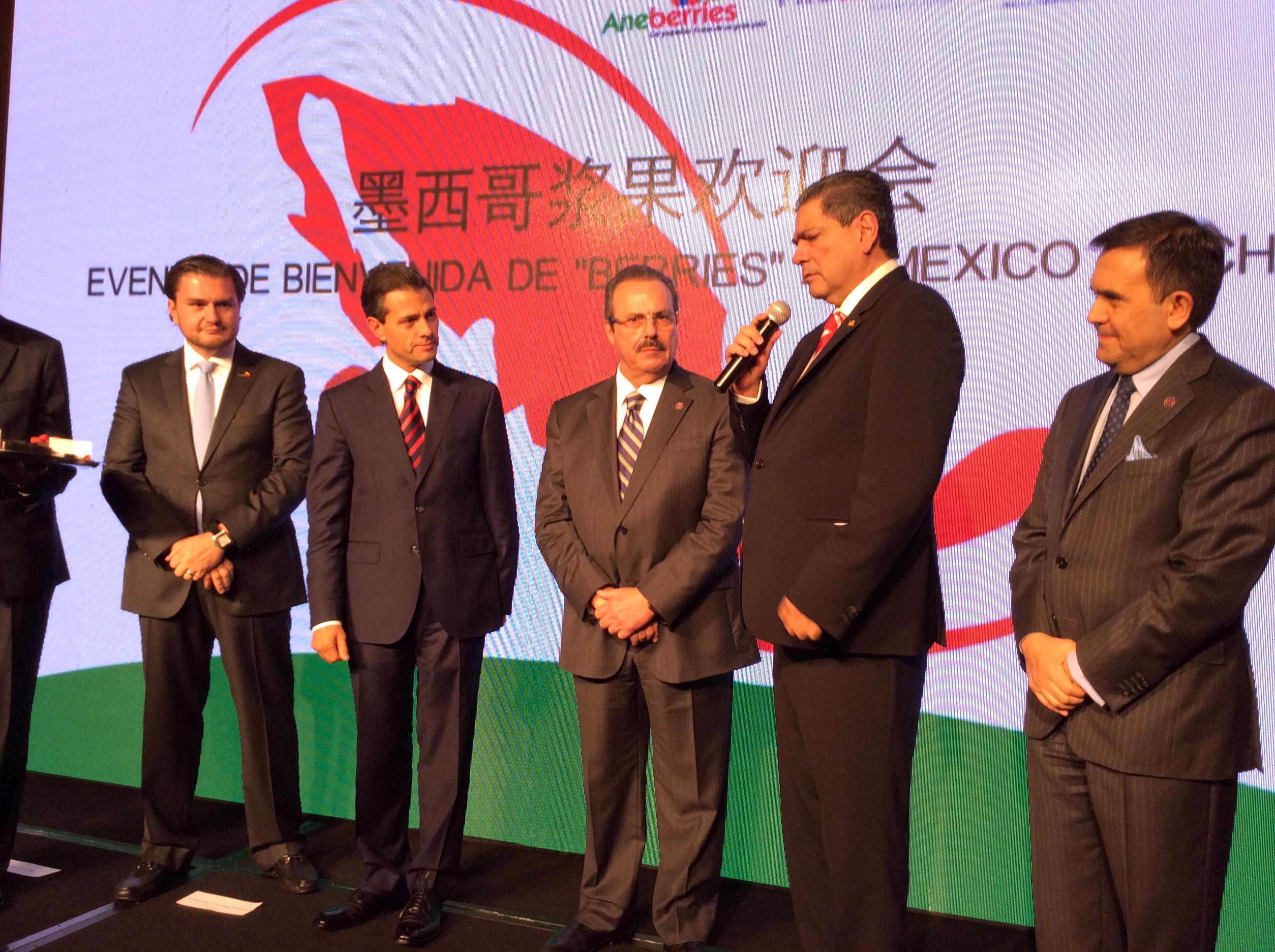 Participan SAGARPA y productores de berries en el Foro de Negocios México-China