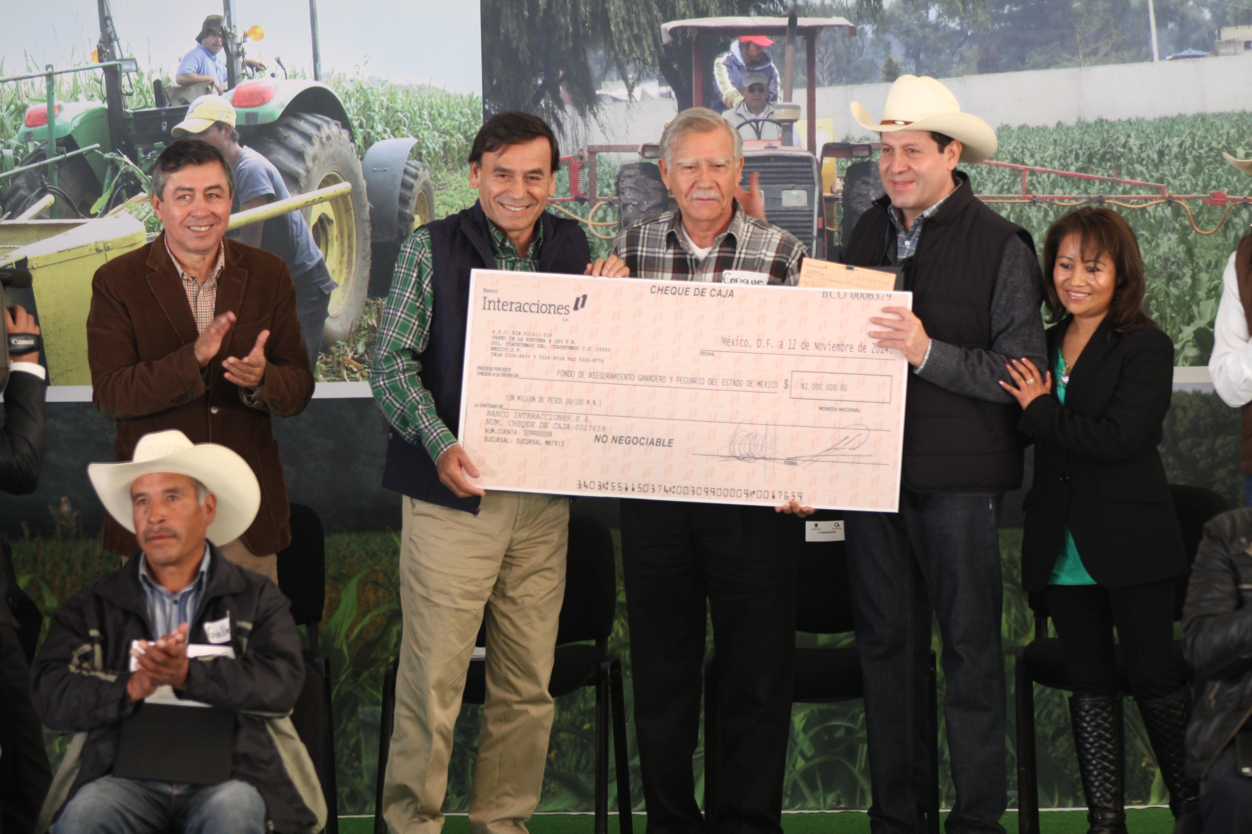 Respalda SAGARPA a productores afectados por contingencias climatológicas