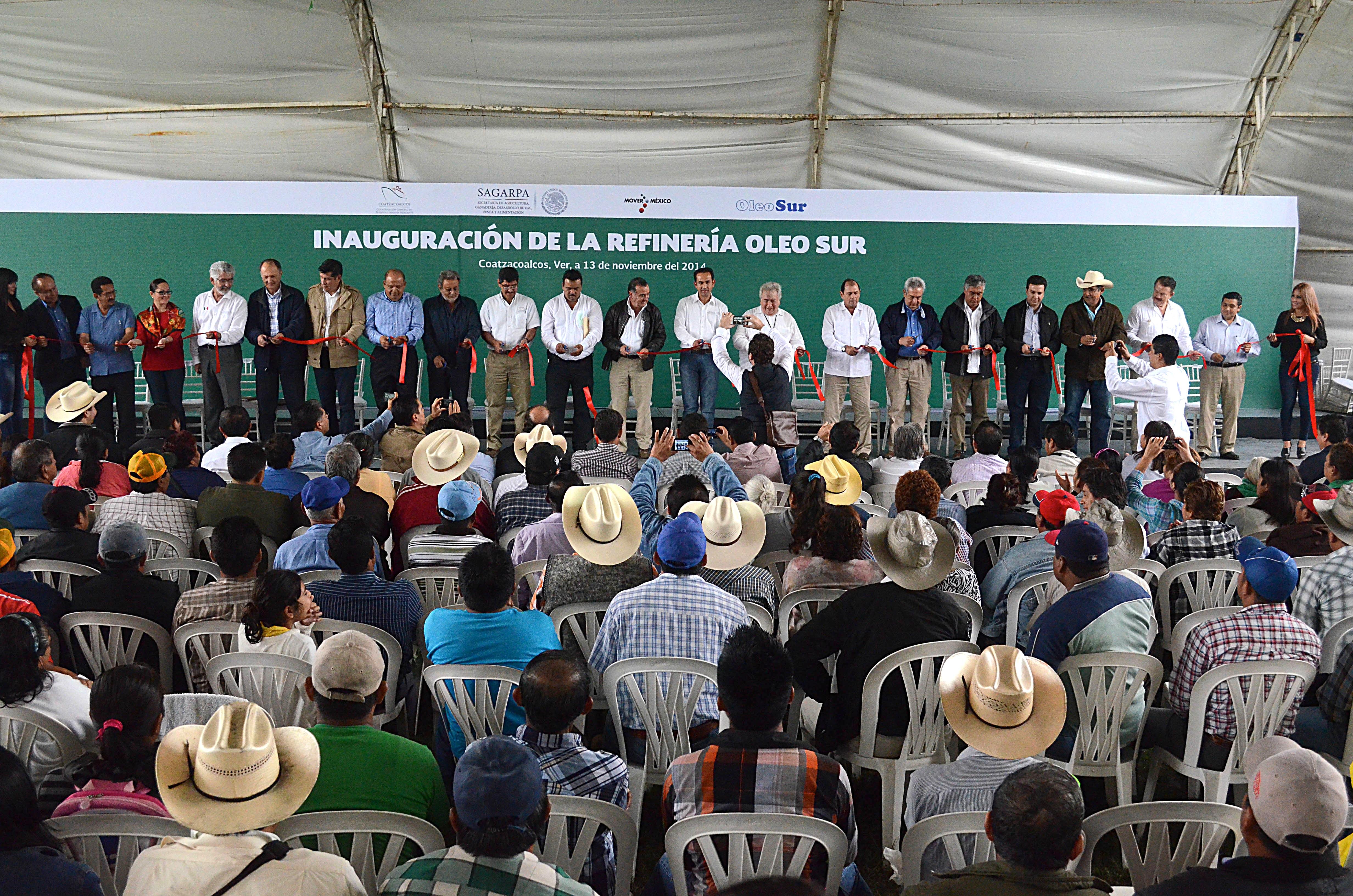 Inauguran refinería de aceite de palma en Veracruz para impulsar el desarrollo del sur – sureste