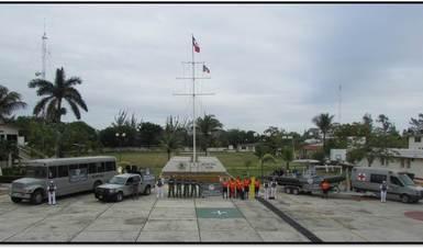 Personal de la Secretaría de Marina - Armada de México comisionado en la Operación Salvavidas Invierno 2018