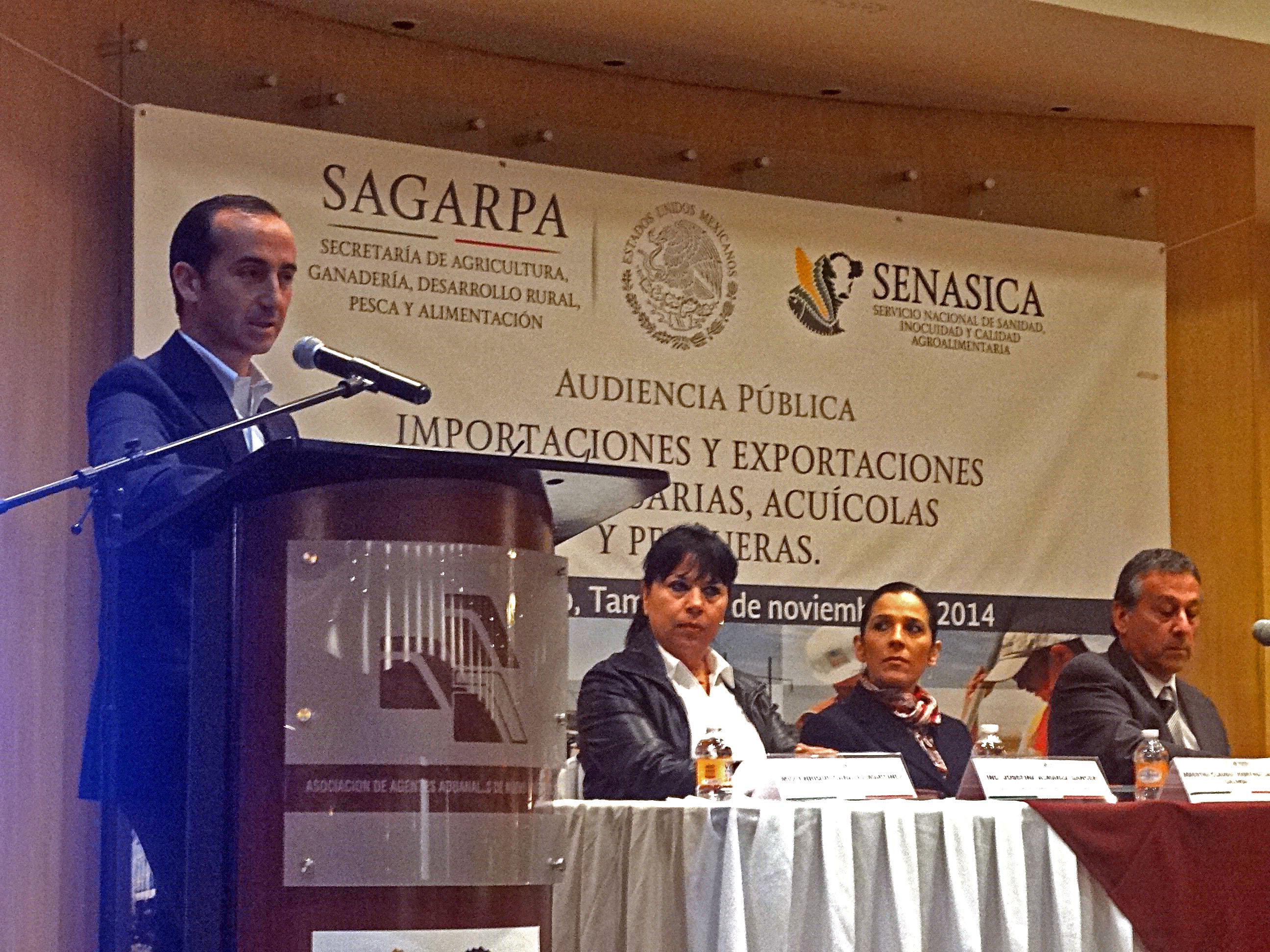 Anuncia SAGARPA mecanismos que facilitan comercio agroalimentario