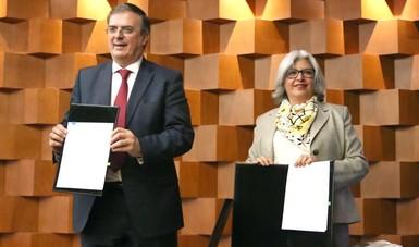 SRE y SE colaborarán para promover las exportaciones y la atracción de Inversión Extranjera Directa