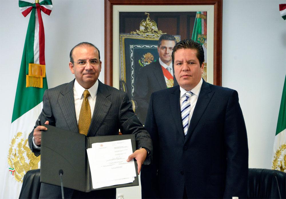 La Reforma Laboral muestra con hechos que se encuentra en marcha y dando resultados concretos: Secretario Alfonso Navarrete Prida.