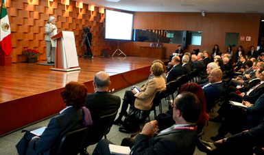 Participación de la Secretaria de Economía, en el evento XXX Reunión de Embajadores y Cónsules 2019