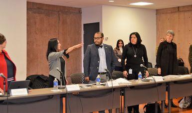 El titular de la Unidad de Finanzas y Administración de la Secretaría de Cultura, Omar Monroy Rodríguez, presidió sesión del Consejo de Administración que aprobó por unanimidad el nombramiento