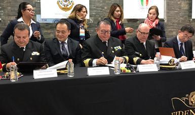 Acuerdan México y China cooperación académica en educación náutica