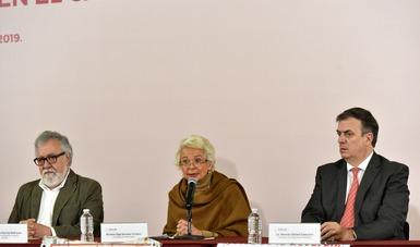 El Decreto para crear la Comisión que hoy instalamos, fue el primero firmado por el Presidente Andrés Manuel López Obrador en su periodo de mandato.