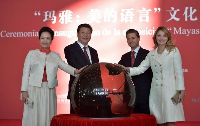 El Presidente de México, Enrique Peña Nieto celebró que por primera ocasión se monte en el Museo Nacional de China una exposición mexicana