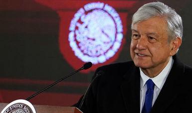 Conferencia de prensa del presidente de México, Andrés Manuel López Obrador, del 17 de enero de 2019.