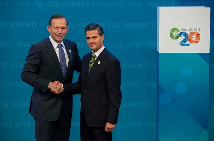 Ambos expresaron coincidencias en torno a la posibilidad de avanzar en el Acuerdo Transpacífico de Asociación Económica (TPP), y dialogaron sobre la agenda de la reunión del Grupo de los 20 (G20)