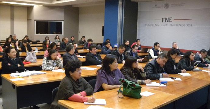 Imparte INADEM talleres informativos sobre el Fondo Nacional Emprendedor