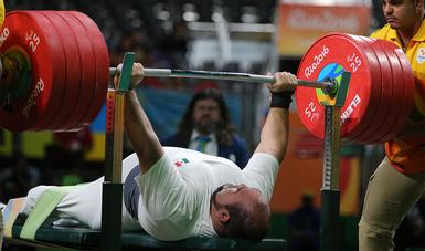 El pesista fue nominado por el Comité Paralímpico de las Américas como atleta del año