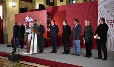 Conferencia de prensa del presidente de México, Andrés Manuel López Obrador