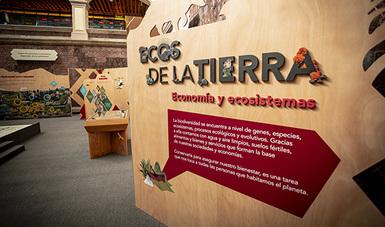 """Con el propósito de fomentar una cultura ambiental basada en el conocimiento y en la valoración de la riqueza biológica de México se inaugura la exposición temporal """"Ecos de la Tierra"""" en el MIDE, Museo Interactivo de Economía en la CDMX."""