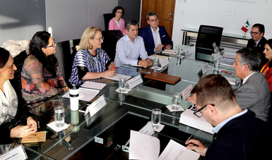 La SEMARNAT y el INEGI fortalecerán mecanismos de colaboración.