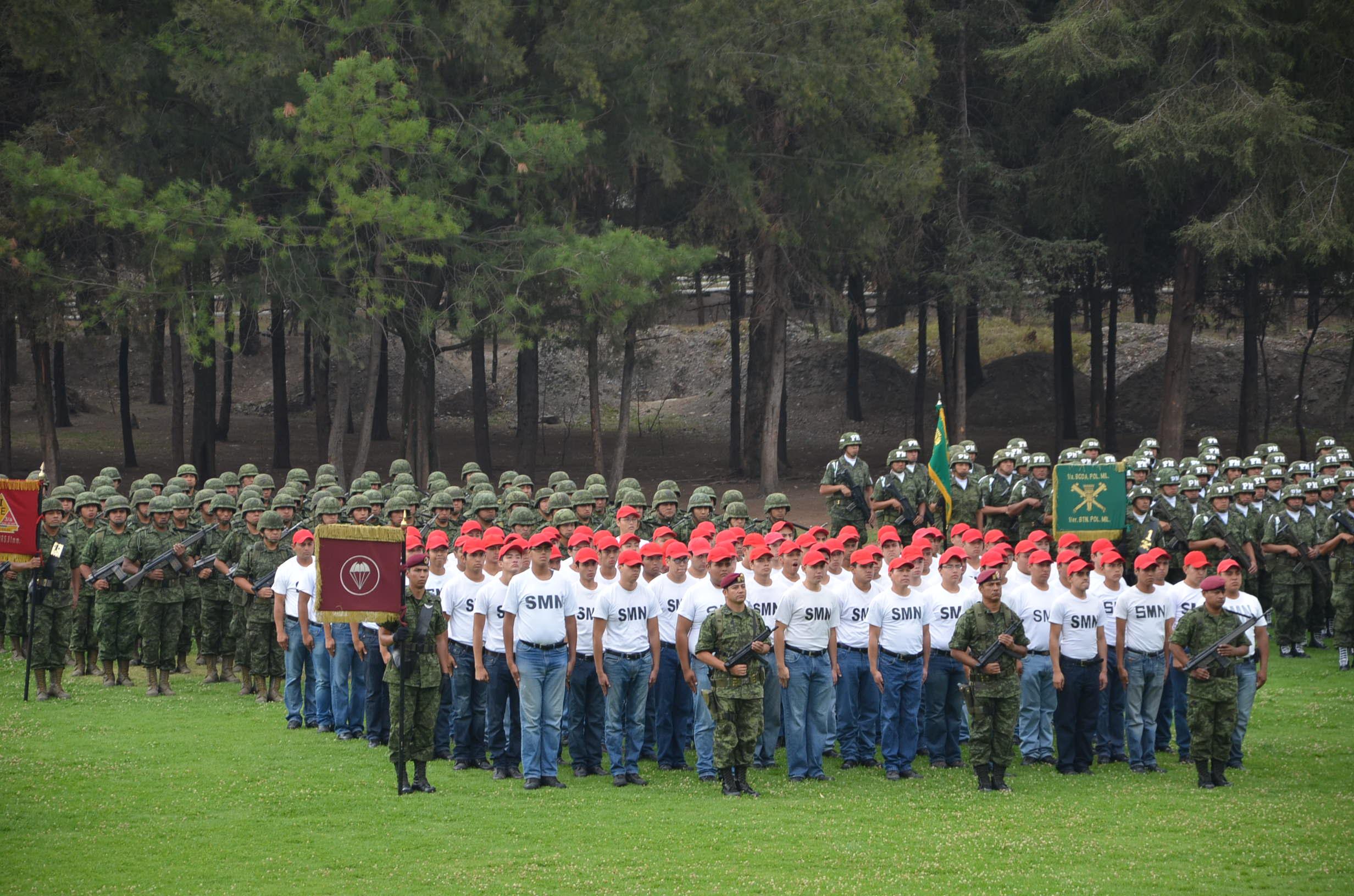 Inician Jornada Nacional para la prevención de adicciones con apoyo de conscriptos