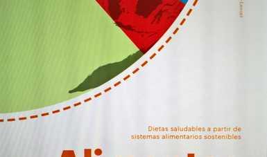 Portada del libro Alimentos Planeta Salud.