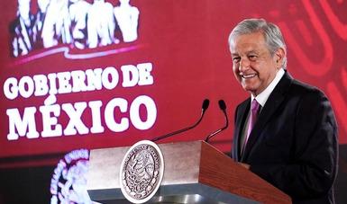 El presidente Andrés Manuel López Obrador encabezó la conferencia de prensa matutina del 6 de febrero.
