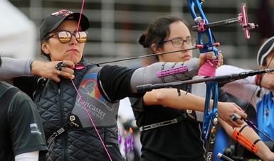 La medallista olímpica se prepara en el CNAR con el objetivo de llegar en óptimas condiciones a sus siguientes compromisos