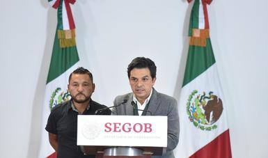 Gobernación refrenda el apoyo a todas y todos los legisladores que por sus agendas reciben amenazas, intimidaciones y censura