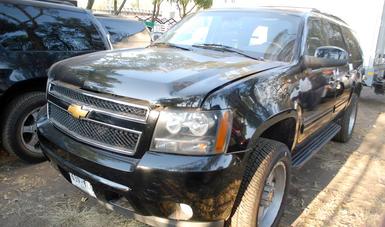 Fotografía de vehículo que se subastará en la Base Militar Santa Lucía los próximos 23 y 24 de febrero