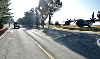Día de la Fuerza Aérea en Santa Lucía, Zumpango