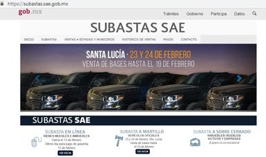 Portal de Subastas SAE