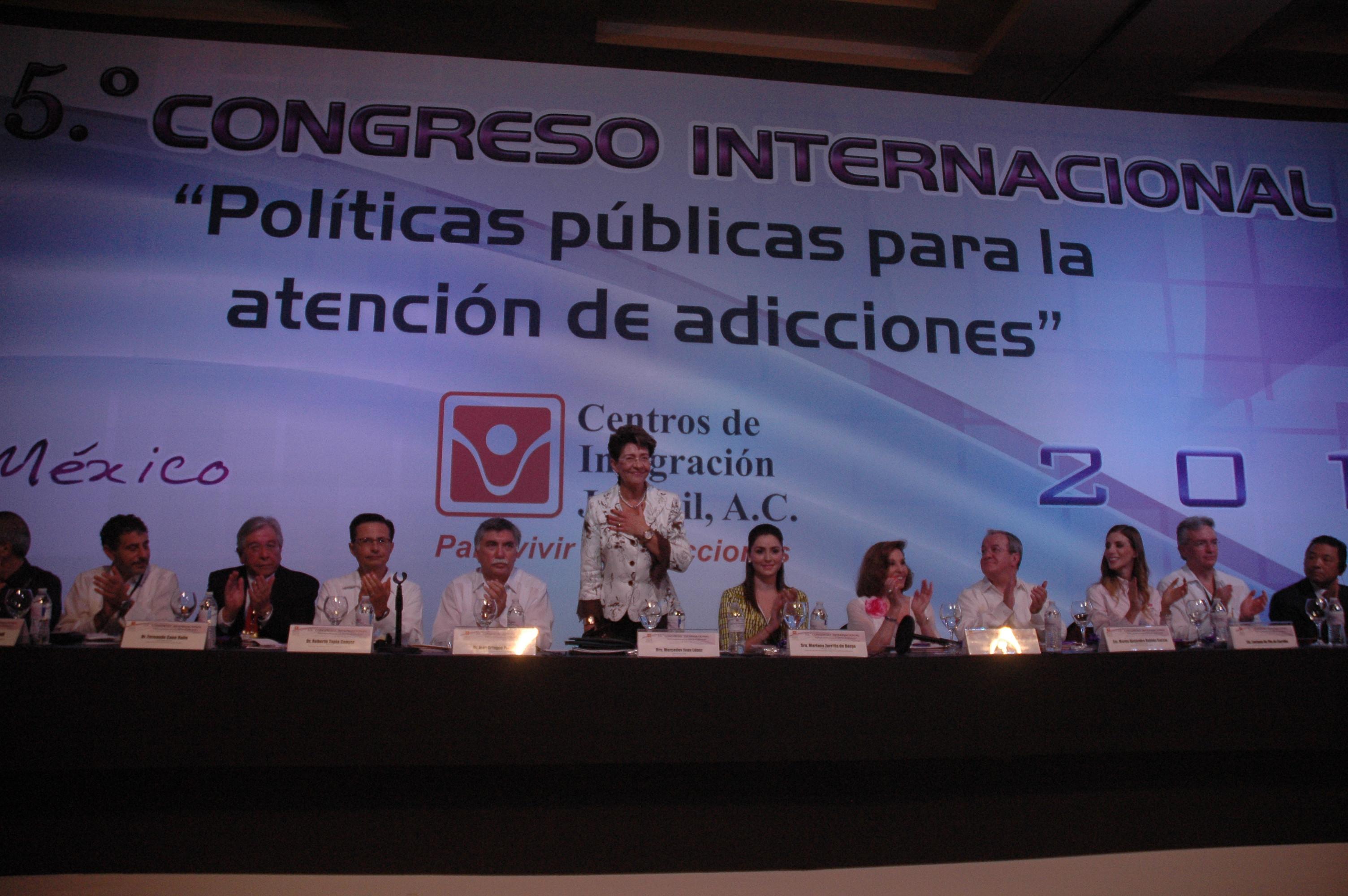 """Congreso Internacional """"Políticas públicas para la atención de adicciones"""""""