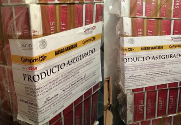 Medidas de control en contra del tabaco ilegal
