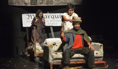 """Triunfa """"Érase una vez un rey"""" de TEATRALISSSTE Veracruz en el 26° Festival Internacional de Teatro Universitario de la UNAM"""