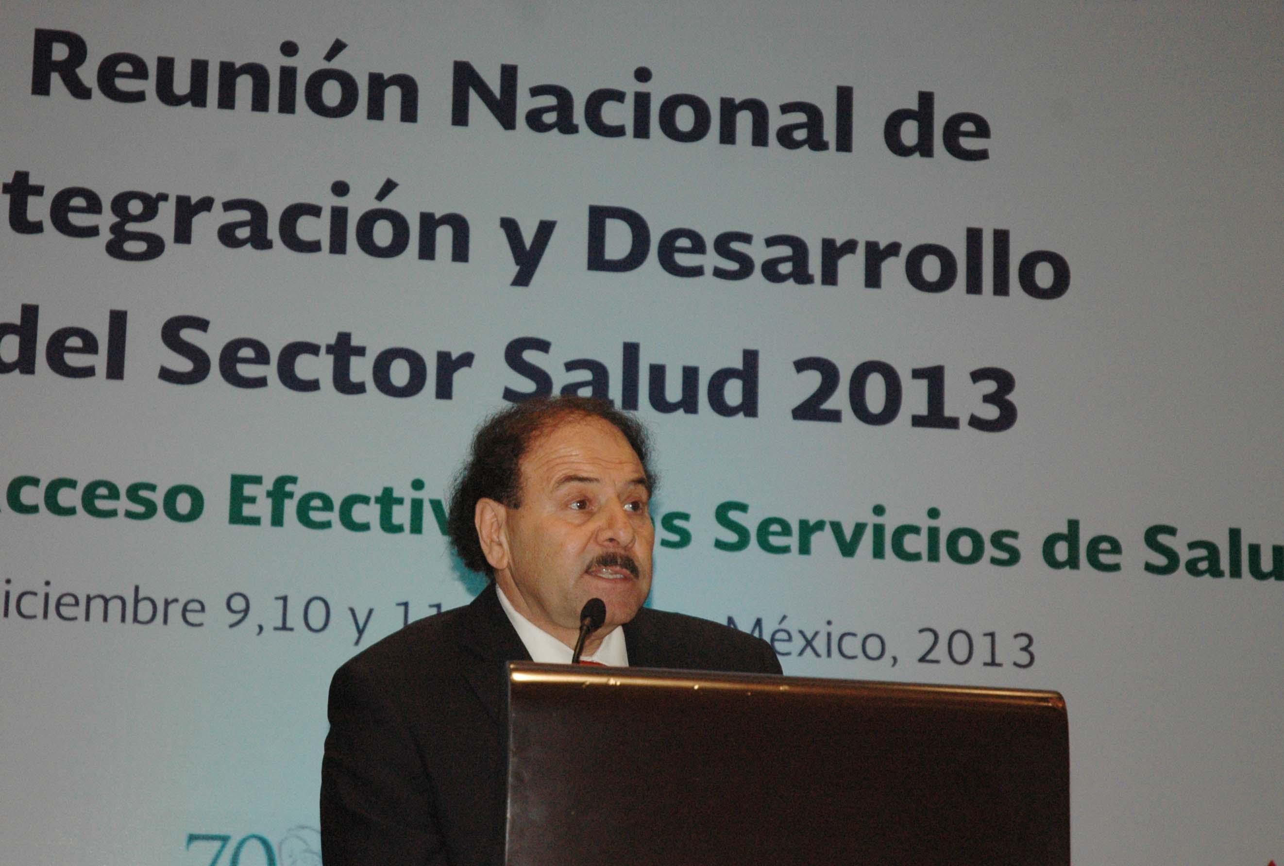Reunión Nacional de Integración y Desarrollo del Sector Salud 2013