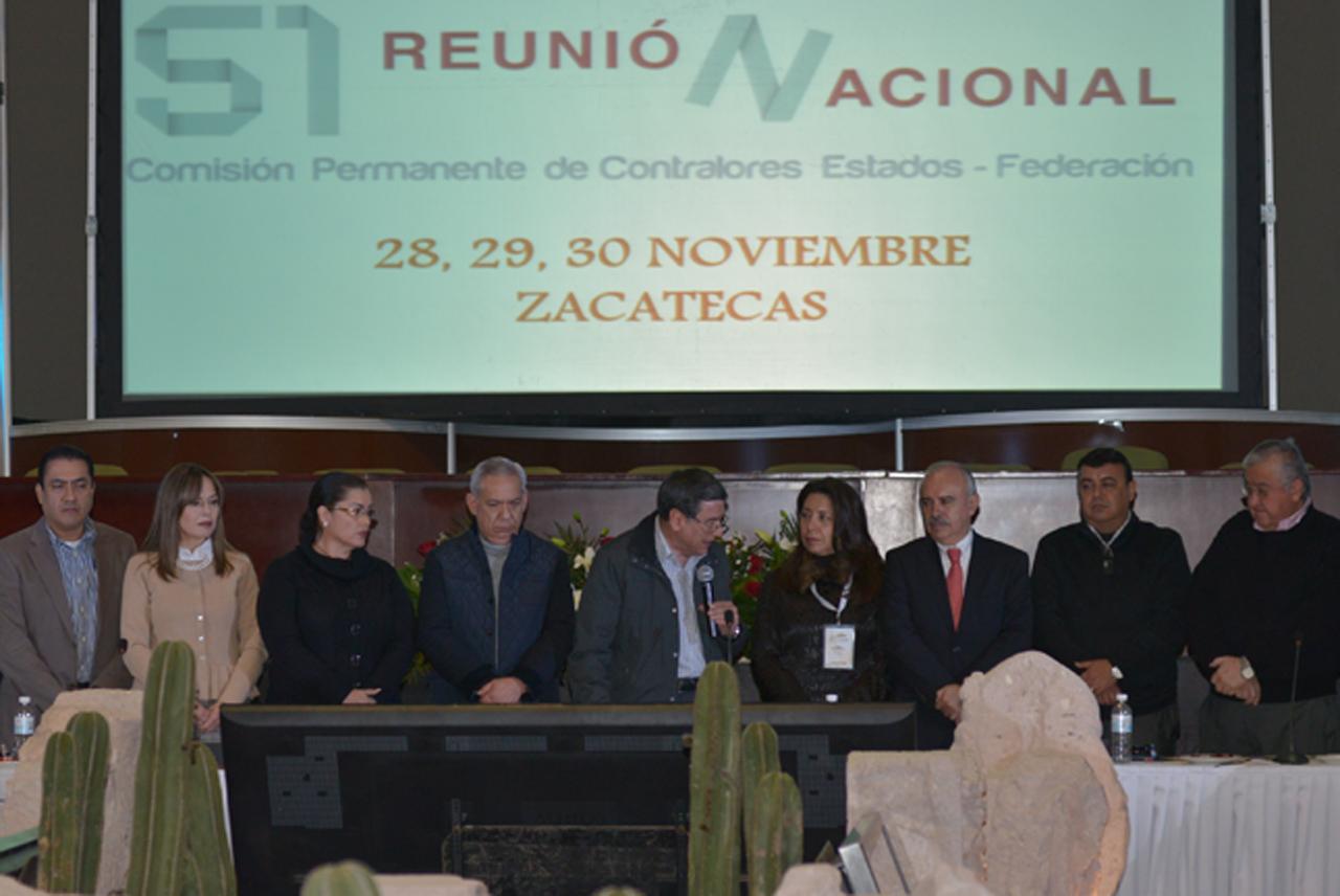 El Subsecretario y Encargado del Despacho de la SFP, Julián Olivas Ugalde, clausuró los trabajos de la 51 Reunión Nacional de Contralores.