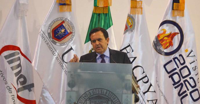 Participa el Secretario de Economía en la Clausura del 8 Encuentro Nacional de Mesas Directivas del IMEF