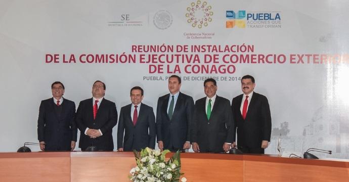 El Secretario de Economía, Ildefonso Guajardo Villarreal, realizó gira de trabajo en Puebla
