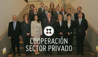 Esta cooperación es un compromiso entre la iniciativa privada y el sector público para construir planes y políticas públicas sobre gestión y reducción de riesgo