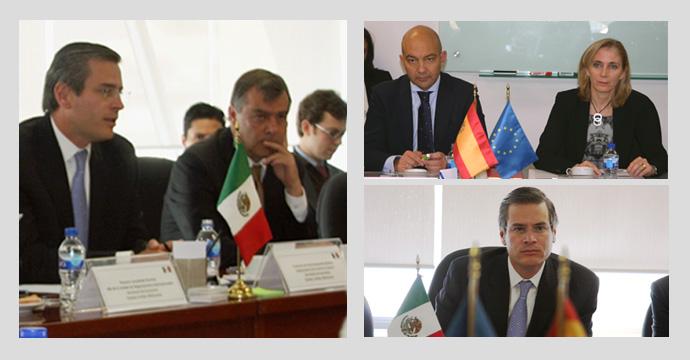 Reunión de la Subcomisión de Asuntos Económico - Financieros de la XI Comisión Binacional México - España