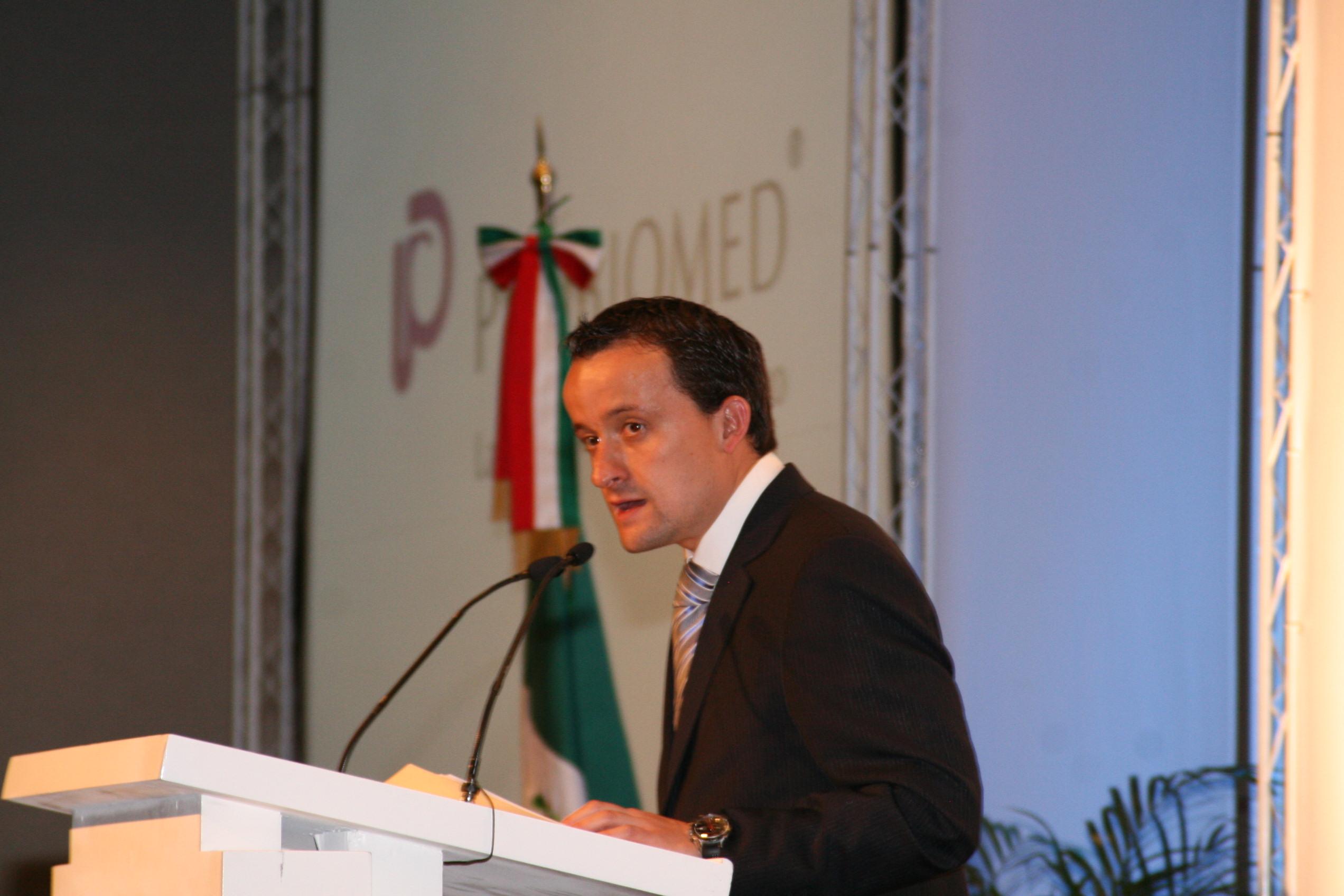 """Inauguración del seminario internacional """"Vector Pharma"""""""