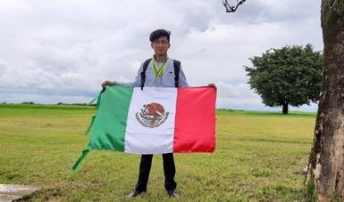 Baudell Cristóbal Zamudio del #CONALEP Nuevo León