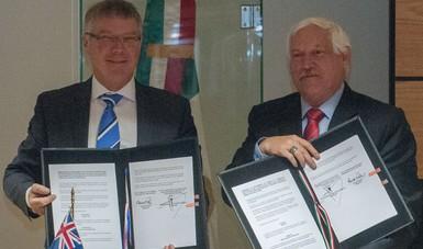La Secretaría de Agricultura y Desarrollo Rural (Sader) y el Ministerio de Comercio y Fomento a las Exportaciones de Nueva Zelandia firmaron un memorándum de entendimiento para fortalecer la cooperación y el intercambio de productos agroalimentarios.