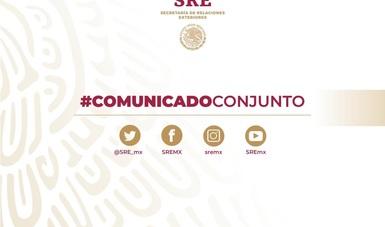 COMUNICADO CONJUNTO SRE-SEGOB