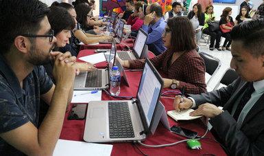 El Indesol, en coordinación con la JAPDF, realizaron el Diálogo e intercambio de información sobre el Programa Jóvenes Construyendo el Futuro