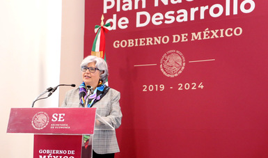 Mensaje de la Secretaria de Economía, Graciela Márquez, al inaugurar las mesas sectoriales de Economía